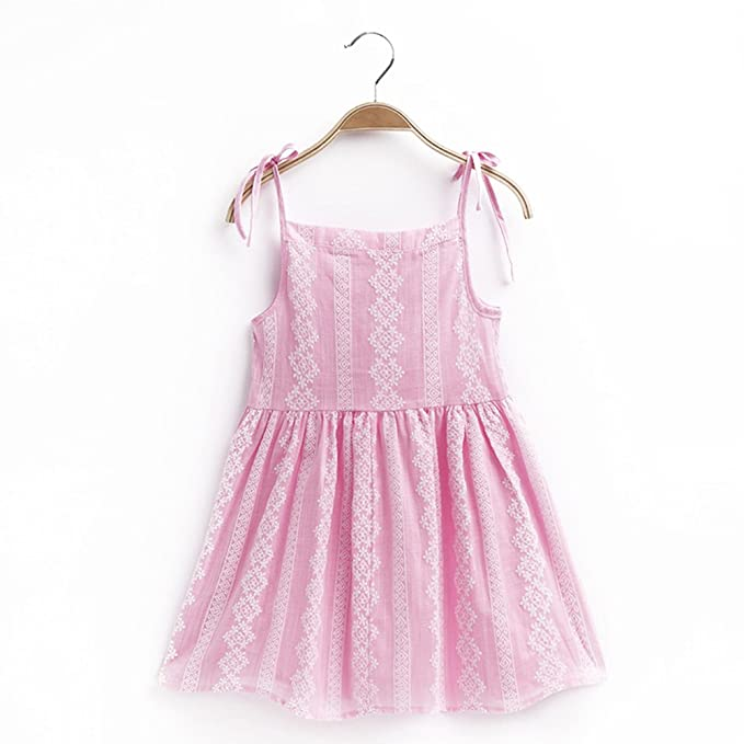 081a55dc78e Age1-8Y for kids dress summer kids girl dress sling flower dress beach  cotton causal