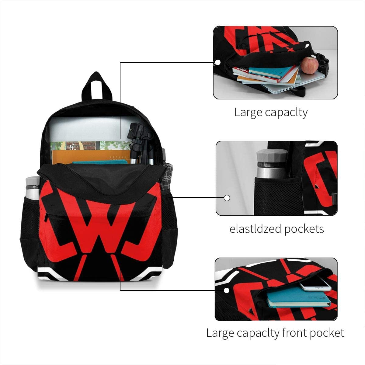 Homewifi Chad Wild Clay(Cwc) Leisure Adult Backpack Laptop Adjustable Shoulder Business Travel
