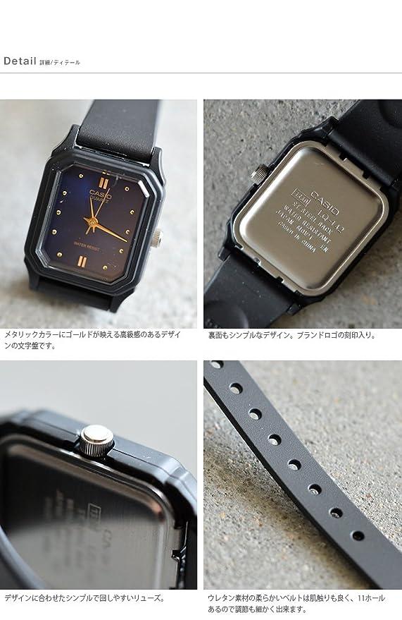 f908d3be4d Amazon.co.jp: (カシオ)CASIO アナログレディース腕時計 one ゴールド(col.9adf) lq-142e-one-9adf:  服&ファッション小物