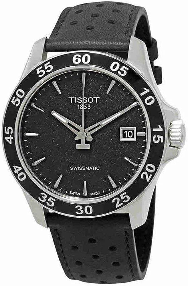 Tissot Men s V8 Gent Auto – T1064071605100 Black One Size