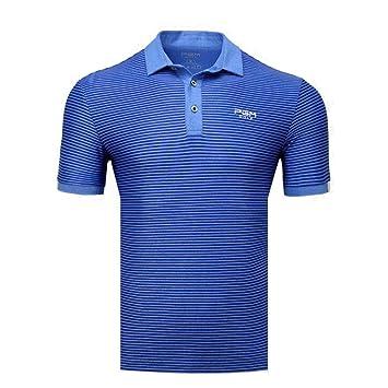 Hombre Polos Manga Corta Hombre Golf Poloshirt Verano Primavera ...
