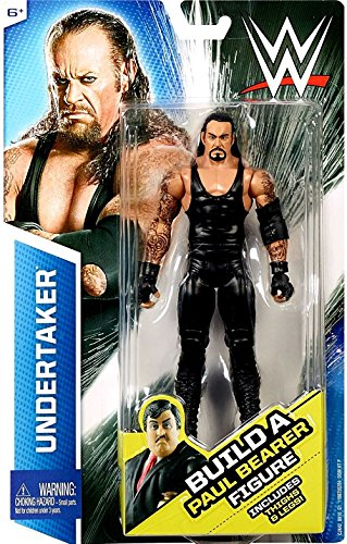WWE, Basic Series, Undertaker Exclusive Action Figure [Build Paul Bearer] by Mattel