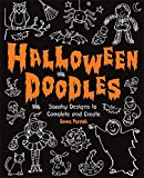 img - for Halloween Doodles: Spooky Designs to Complete and Create book / textbook / text book