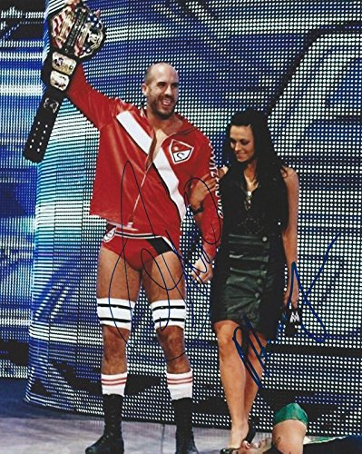 Antonio CESARO & AKSANA Signed WWE United States