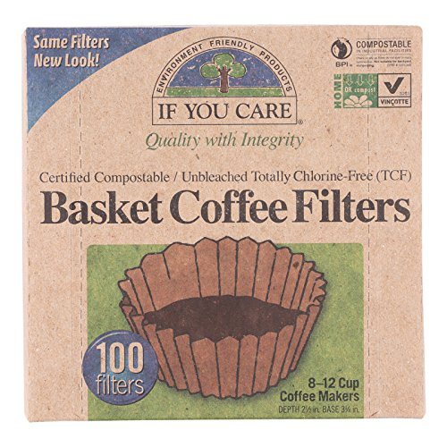 If You Guardianship Coffee Filter Baskets ( 1x100 CT ), Fits 8-12 Cup Drip Coffee Makers