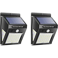 Solar Light Motion Sensor Waterproof Yard Outdoor Garden Lamp (2pcs 40LED) by SturdCelleau