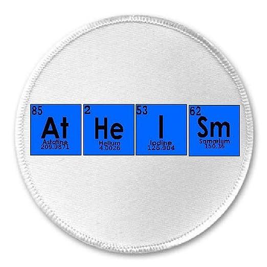 Amazon atheism chemical elements 3 sew iron on patch atheism chemical elements 3quot sew iron on patch periodic table science urtaz Gallery
