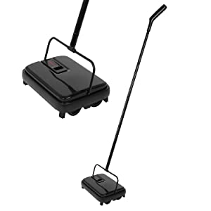 E.yliden Black Handy Floor Carpet Sweeper Lightweight Compact Durable and Easy to Store New Choice