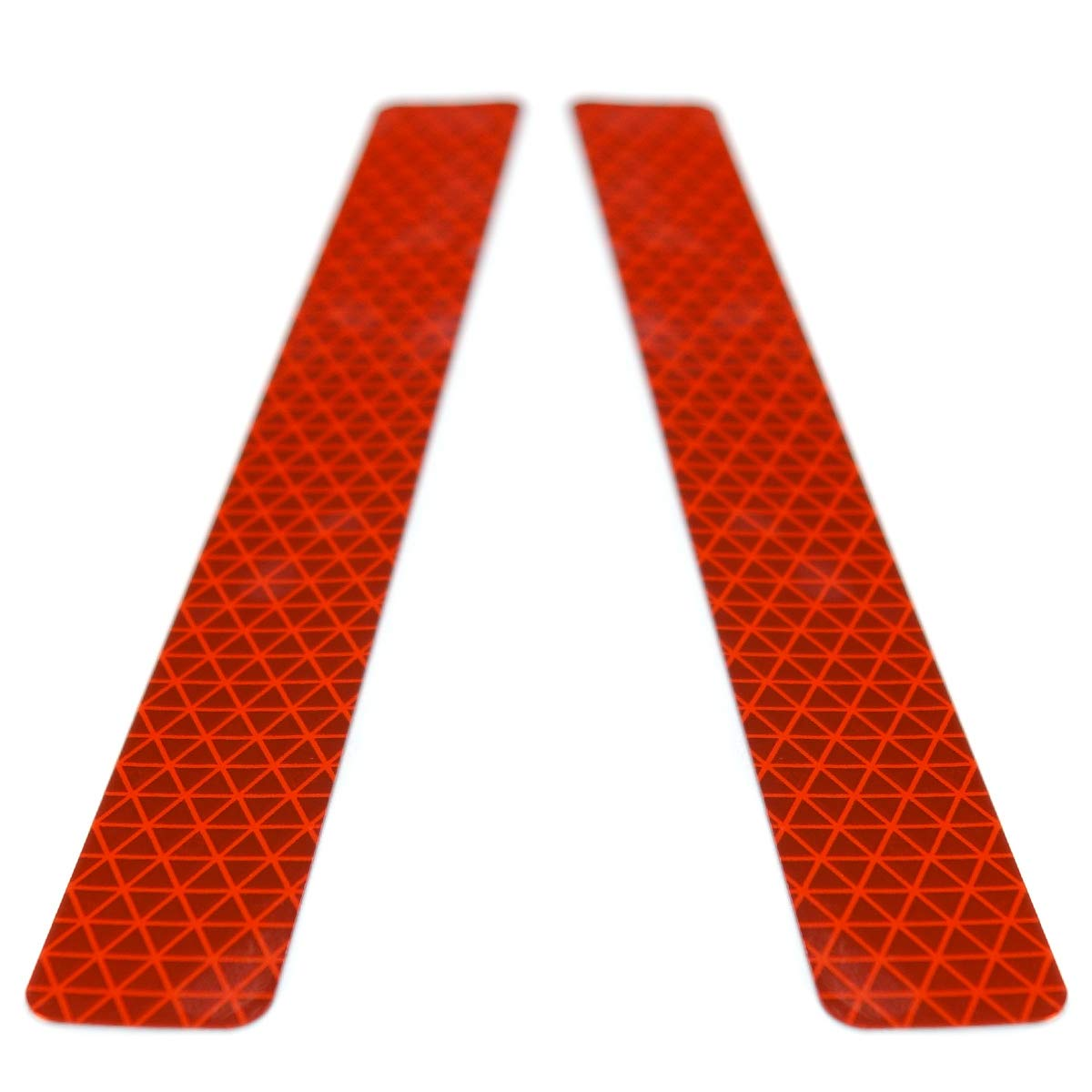 Bumper Reflector Self-Adhesive Ultra Reflective Safety Sticker Decal with Corrosion Resistant Aluminum Reduce Rear End Collisions with Zero Power Consumption Block