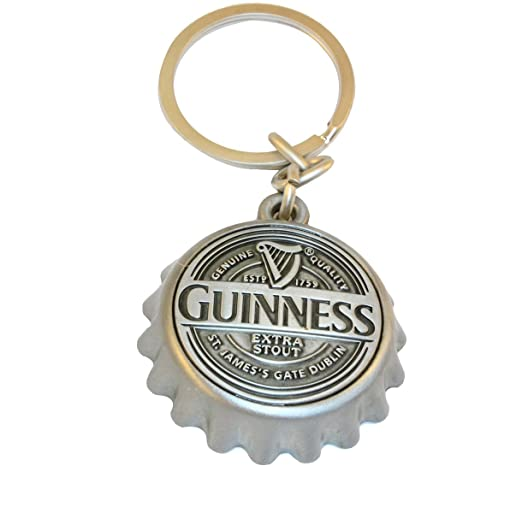 Guinness Tapón Llavero/Abrebotellas