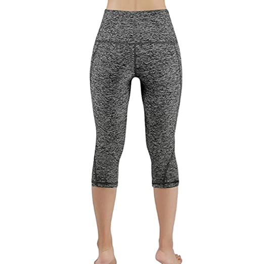 Amazon.com: Dingji Womens Yoga Pants,Adapt for Women Workout Out Fitness Elastic Waist Sports Gym Running Yoga Athletic Pants: Clothing