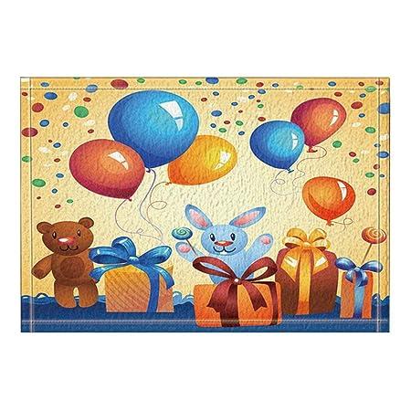MMPTn Globos Coloridos Carteles cumpleaños Carteles ...