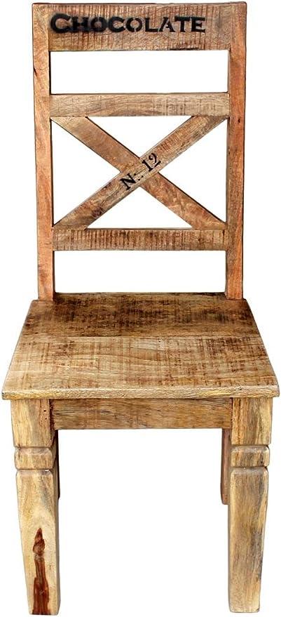 SIT Möbel Rustic 1912 04 Stuhl, Recyceltes Altholz