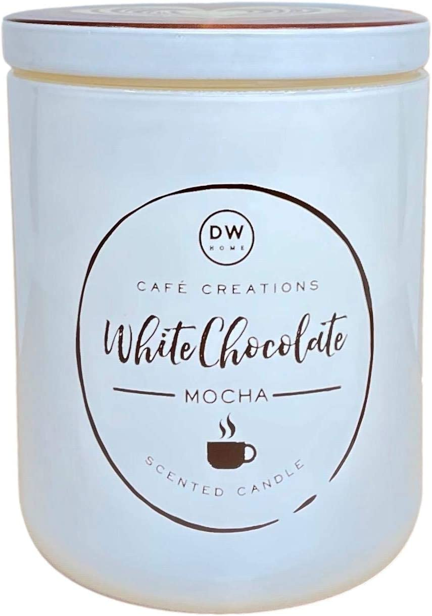 DW Home Cafe Creations White Chocolate Mocha Scented Candle