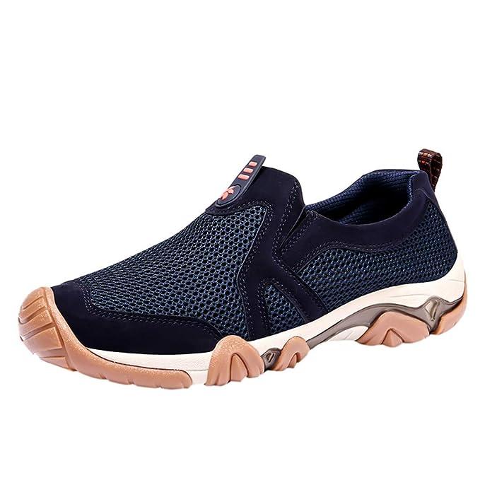 5e53ffdab5d03 Amazon.com: Premium Mens Sport Shoe,Breathable Mesh Workout Running ...