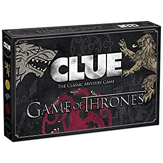 USAOPOLY Clue Game of Thrones Board Game   Official Merchandise   Based on The Popular TV Show on HBO Game of Thrones