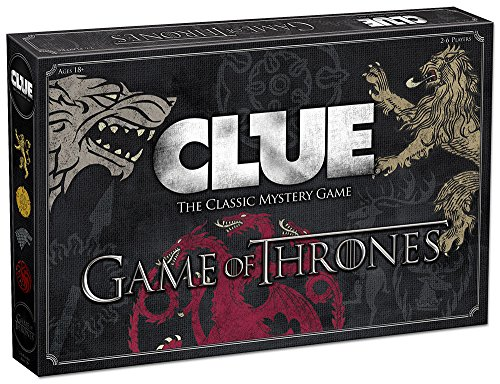 Usaopoly Clue Game Of Thrones Board Game   Official Game Of Thrones Merchandise   Based On The Popular Tv Show On Hbo Game Of Thrones   Themed Clue Mystery Game   A Great Game Of Throne Gift