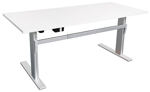 Eléctrico (Altura Ajustable escritorio ergonómico B 160 cm/180 cm ...