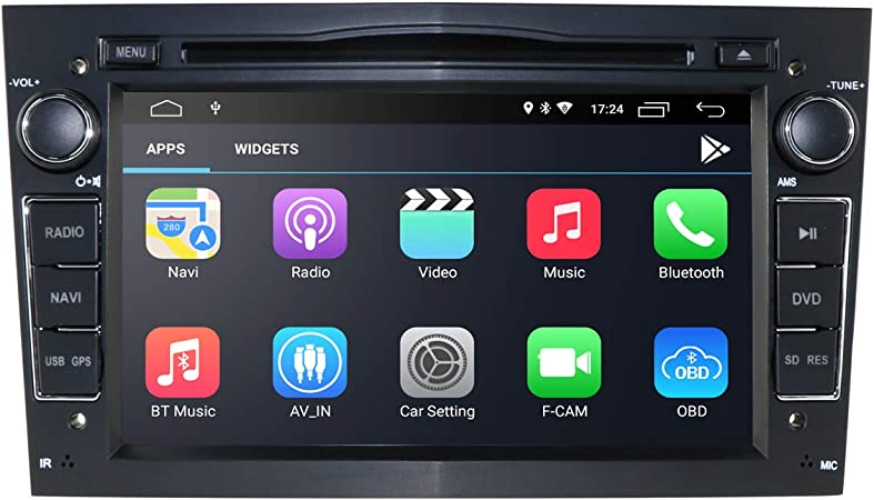 2 Din Autoradio Mit Android 10 Os 7 Zoll Kapazitiver Elektronik