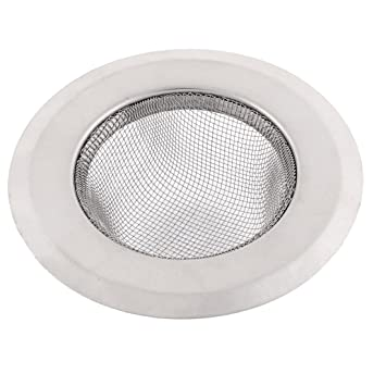 4Stk Edelstahl Runde Mesh Tee Blatt Gewürz Teekanne Filter Sieb 85mm Dmr.
