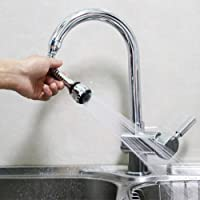Everpert 360 Rotary Flexible Faucet Sprayer Water Saving Faucet Hose Aerator Diffuser Nozzle for Home Kitchen