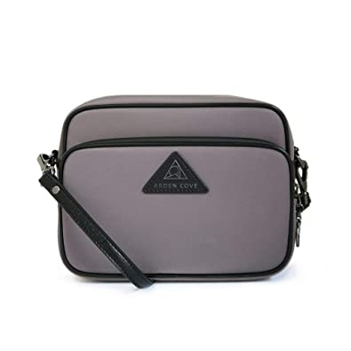 75c6055f46db Anti-Theft Waterproof Full Cross-Body Bag with Adjustable Faux Leather Strap