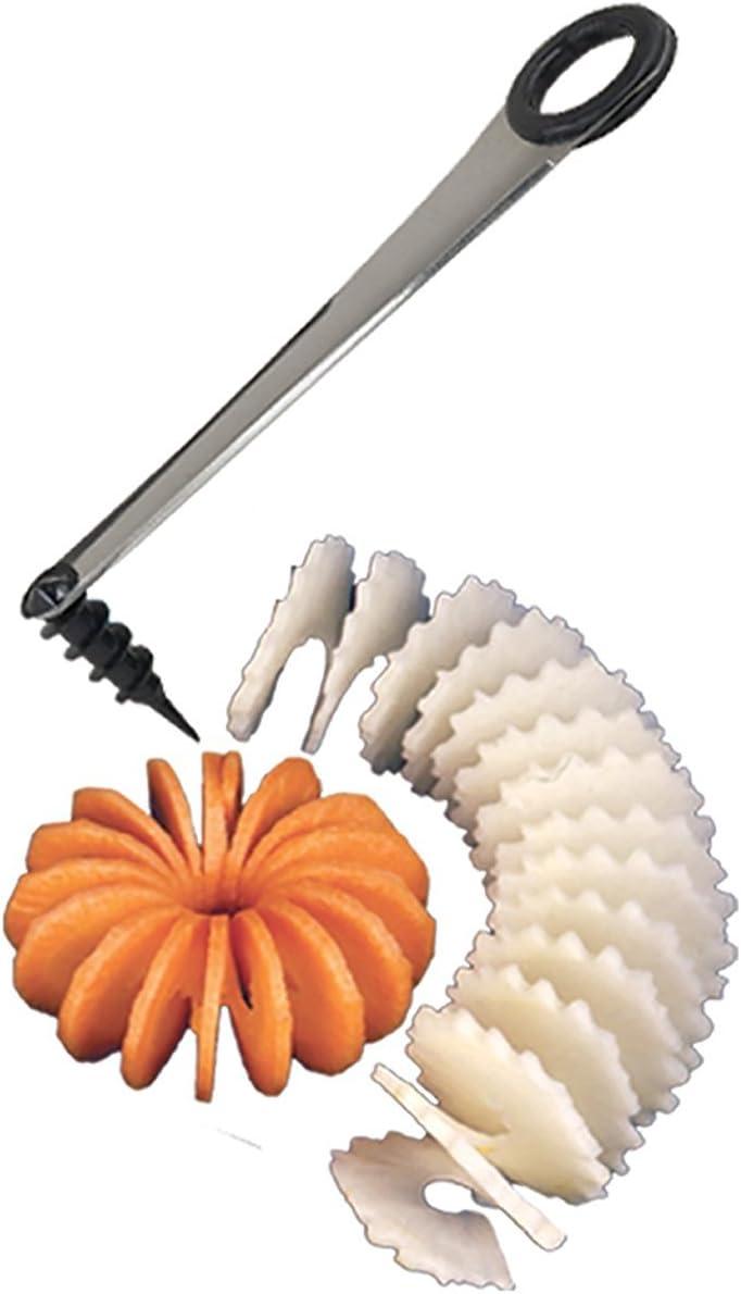 Chef Harvey Spiral Slicer, Stainless Steel Blade, For Easy Spiral Garnishes