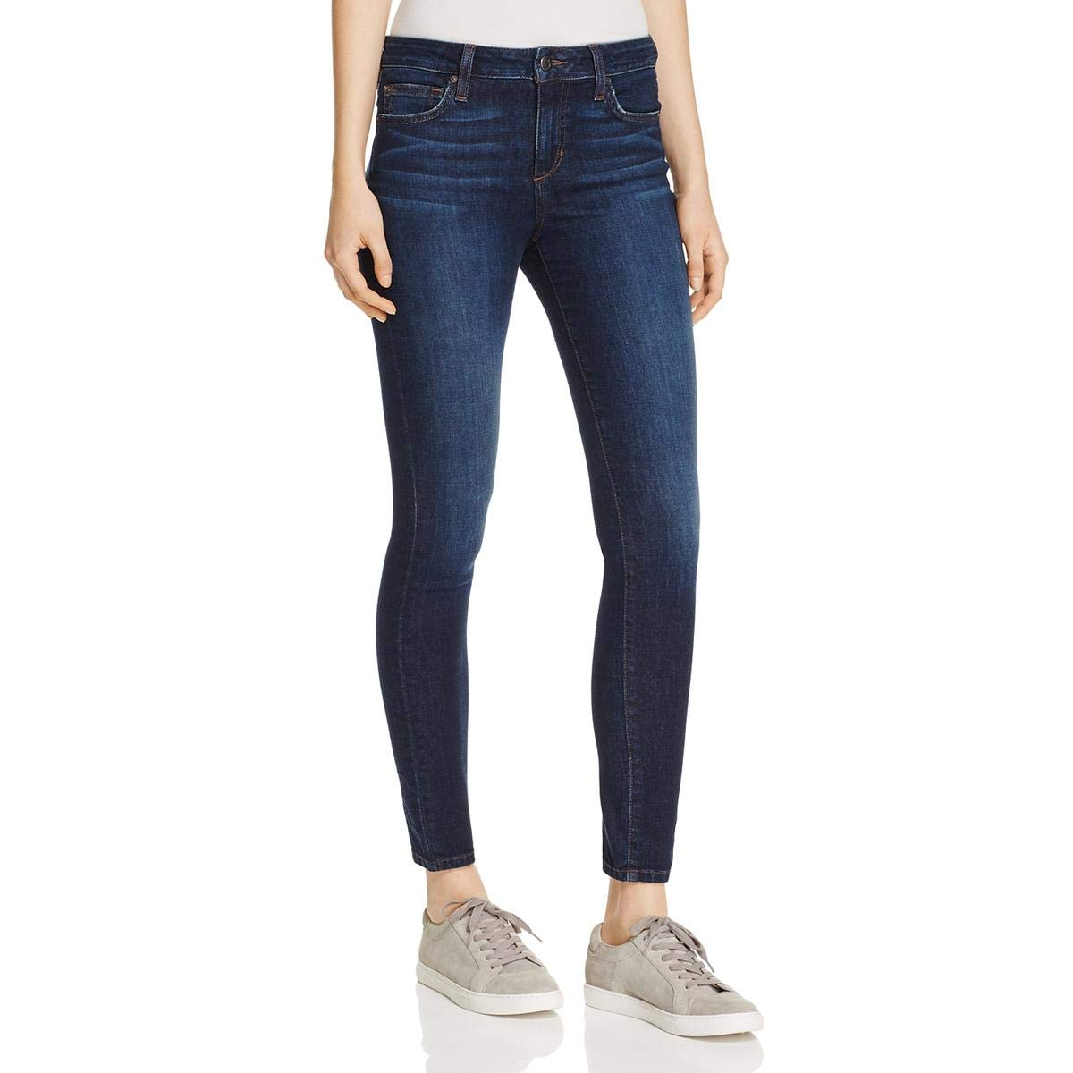 Joes Jeans Womens Evelyn Skinny Mid-Rise Ankle Jeans