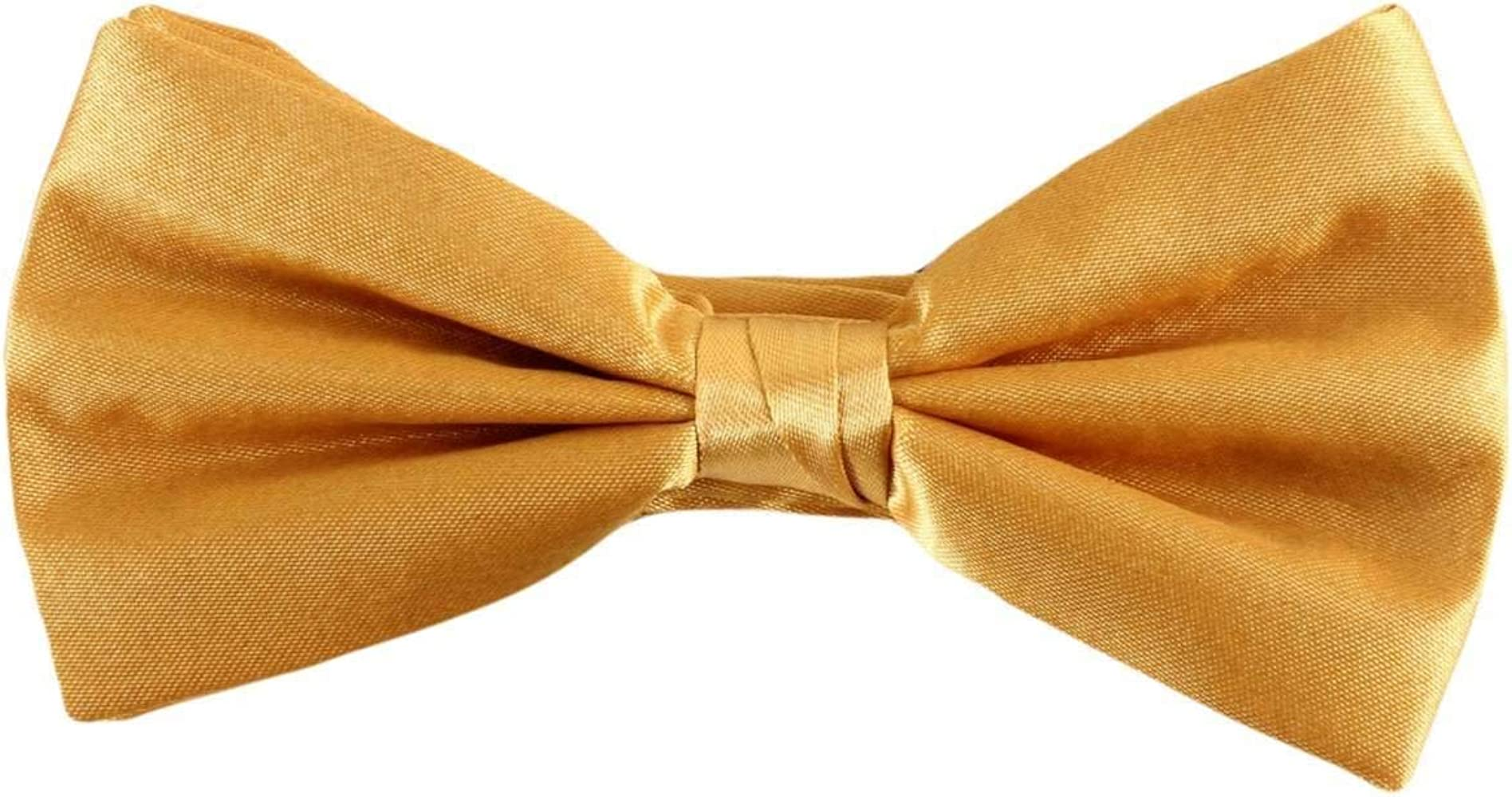 Knightsbridge - Corbata para hombre (poliéster), color dorado ...