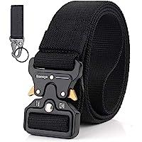 Bansga Cinturón Táctico de los Hombres Estilo Militar con Nosotros Cinturón de Nylon de Alta Resistencia Para el…