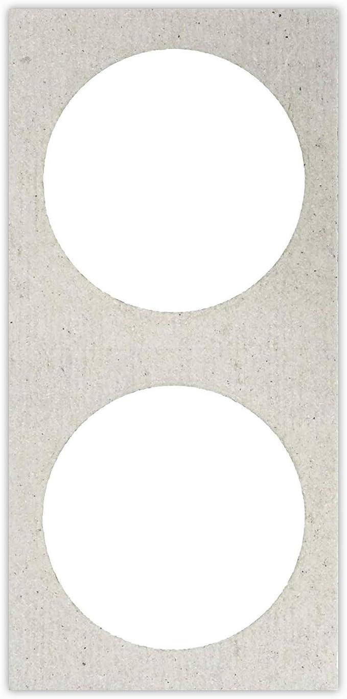 200 2x2 Cardboard Coin Holders Large Dollar  39mm