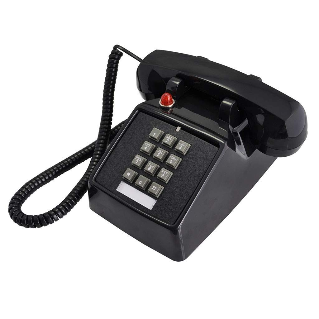 Retro Phone Vintage Retro Mechanical Bell Creative Antique Office Fixed Telephone Landline Home Nostalgic Antique American Telephone Telephones (Color : B)