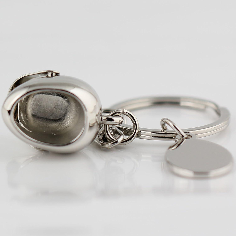 maycom Creative Fashion Romantic Couple Keychain Key Chain Ring Keyring Key Fob (Helmet & Motorcycle)