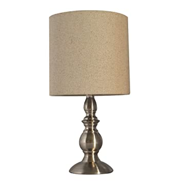 Tootoo Star 15 Inch Small Table Lamp For Bedroom Bedside Living Room