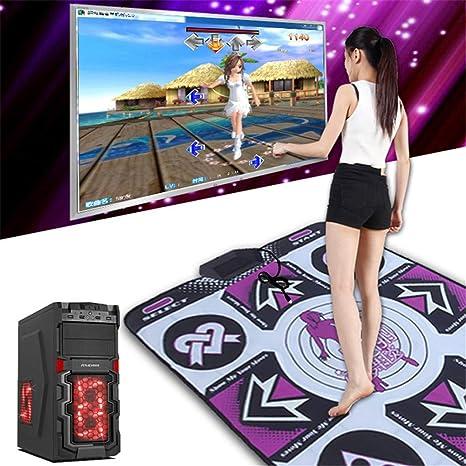 mantas de danza antideslizantes//resistentes al desgaste Home TV//Ordenador de danza para ni/ños juegos de yoga interior Mantas de danza juegos de baile Mantas de p/érdida de peso