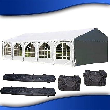 Amazon.com DELTA Canopies 32u0027x16u0027 PVC Party Tent - Heavy Duty Wedding Canopy Gazebo Carport - with Storage Bags Garden u0026 Outdoor  sc 1 st  Amazon.com & Amazon.com: DELTA Canopies 32u0027x16u0027 PVC Party Tent - Heavy Duty ...