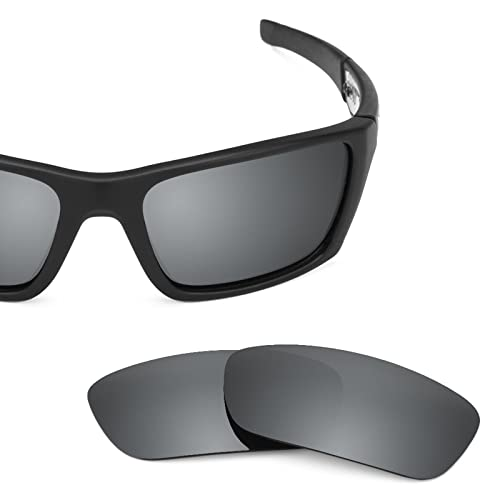 0f4dc2efccc Revant Polarized Replacement Lenses for Oakley Jury Black Chrome  MirrorShield