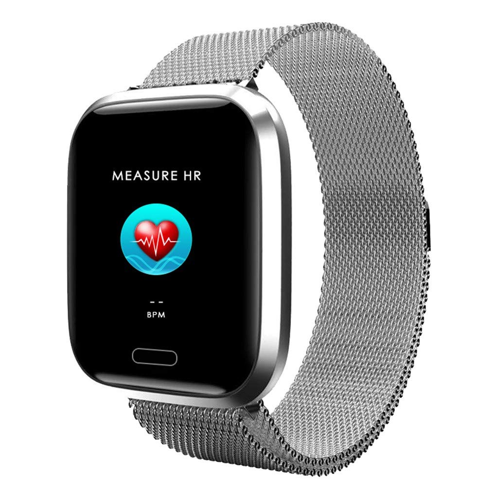 1.3inch Full Color Screen Smart Watch,Blood Pressure Heart Rate Monitor Smartwatch