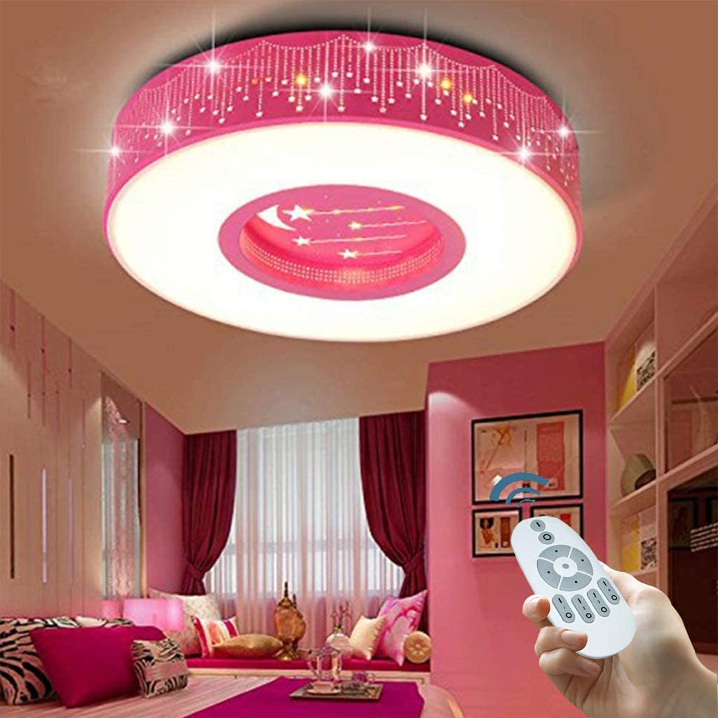 LED Baby Lampe Modern Cartoon Deckenleuchte Kreative Kinderzimmerlampe Design Acryl Lampeschirm Deckenlampe F/ür Kinder Zimmer Schlafzimmer Dimmbar Mit Fernbedienung M/ädchen Kronleuchter,Blau