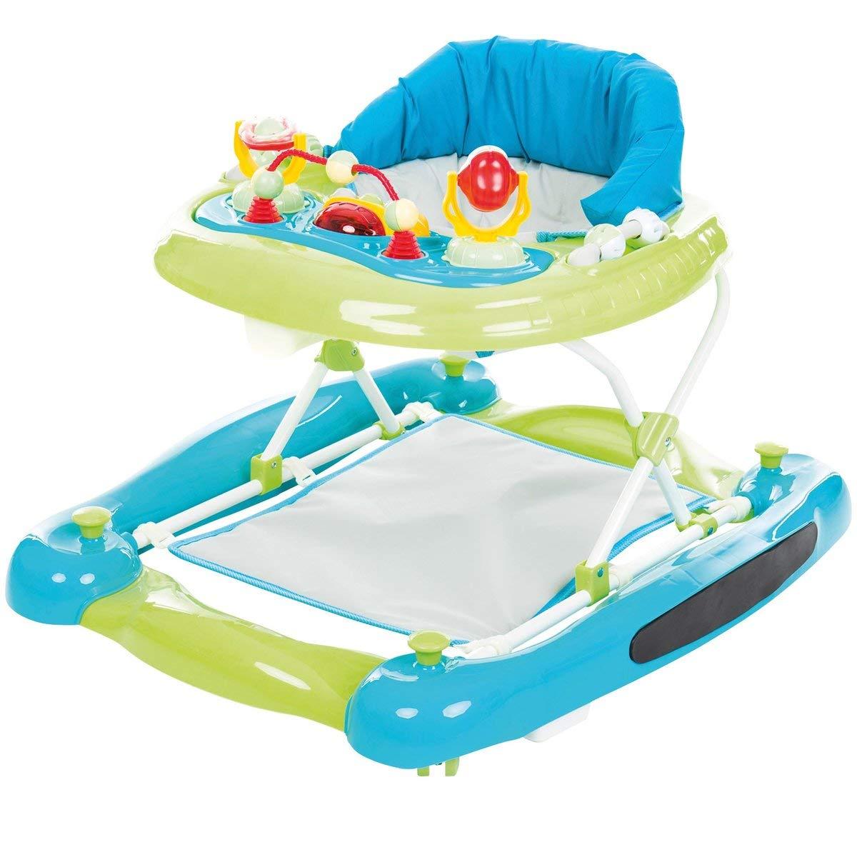 Baby-Wellness-Lifestyle - Tacatá con función balancín, color verde ...