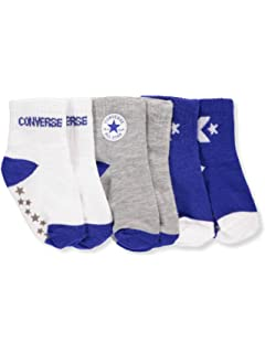 65827ed1901 Converse All star Toddler socks - Age 3-4.5: Amazon.co.uk: Clothing