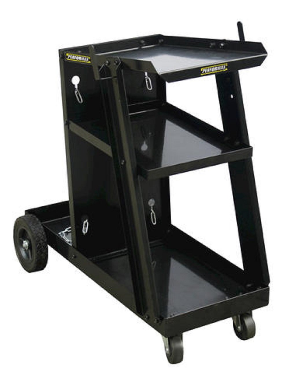 Performax Heavy-Duty Steel Construction With a Rugged Powder-Coat Finish For MIG And Flux-Core Wire Welders Welding Cart - 28.35' L x 11.02' W x 3.15' D