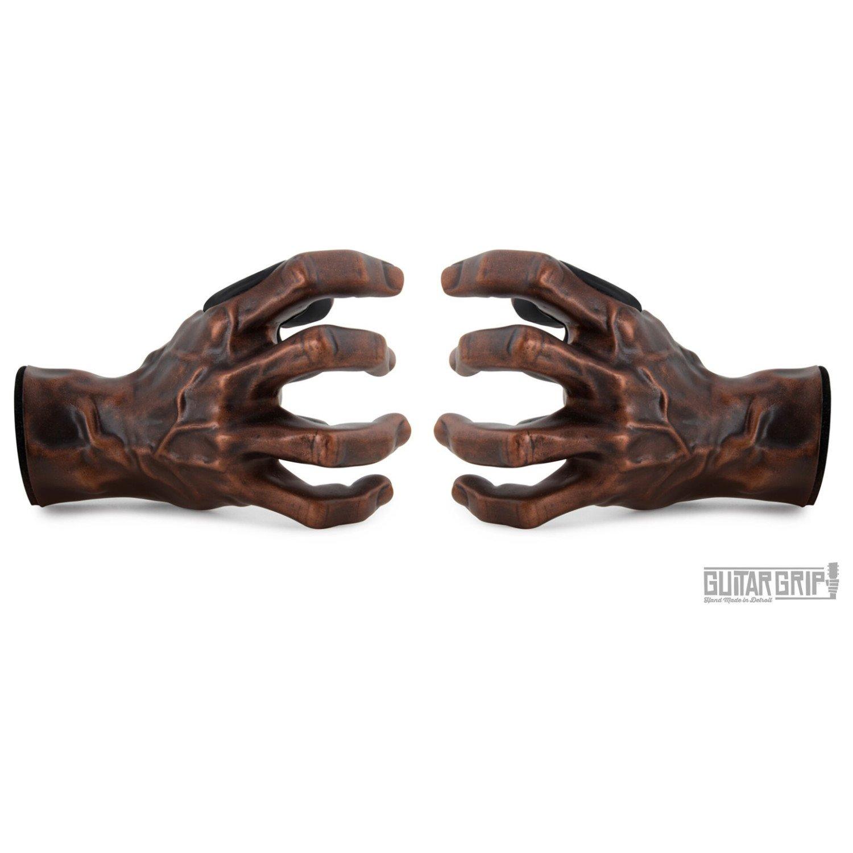 Guitar Grip Studios Left and Right Hand Antiqued Copper Guitar Hangers