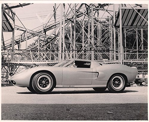Vintage Photograph of Aztec Avenger by George Barris Side Shot Original 35 + years old - 2 Pieces