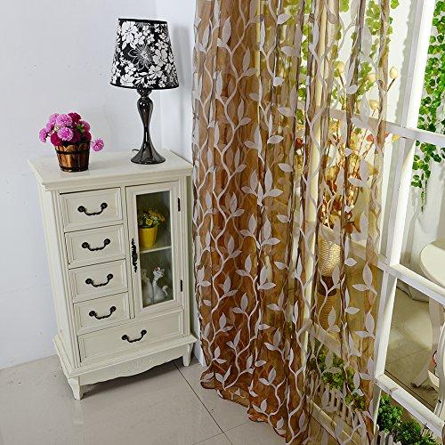Fedi Apparel Newest Tulle Voile Window Curtain Divider Drape Panel Scarf Valance Decor