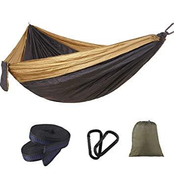 XJKLFJSIU-hammock Hamaca para Acampar Al Aire Libre ...