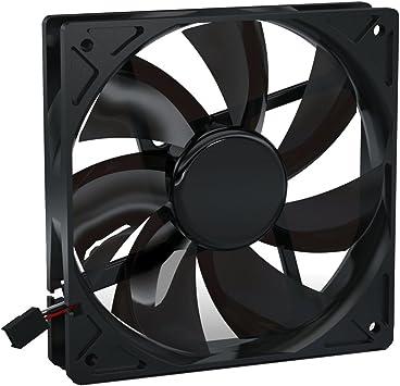 Noiseblocker BlackSilentPro PLPS - Ventilador de PC (Ventilador ...