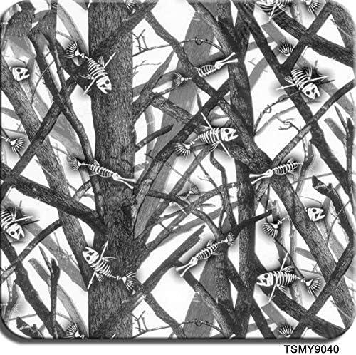 ハイドログラフィックフィルム水転写プリントハイドログラフィックフィルム、1.0メートル幅 - ハイドロディップハイドロディップフィルム - ドライブランチパターン - マルチカラーオプション (Color : TSMY9040, Size : 1mx20m)