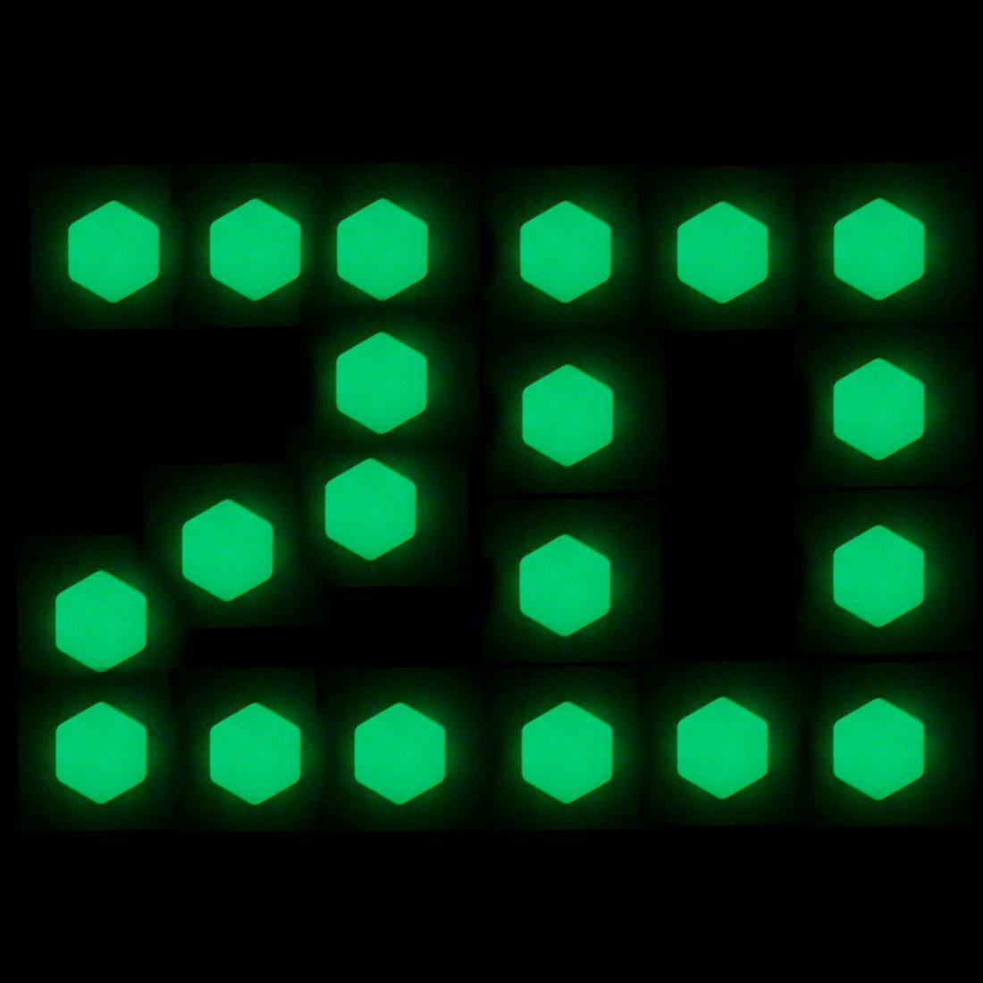 MEHRWEG Leuchtend Blau, 19mm Larcele Silikon Radschraubenkappen Deckel Rad Lug Mutter Abdeckungen,20 St/ücke LSBHT-02