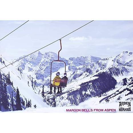 Amazon Com 1970 S Aspen Highlands Maroon Bells Original Ski